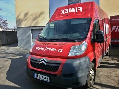 Vlastní doprava zboží Fimex